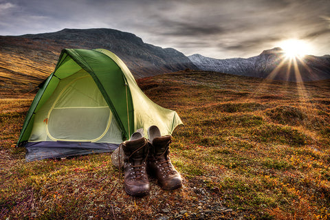 Iceland Autumn camping