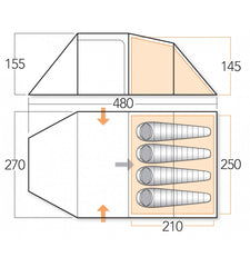 Large Icelandic Tent Dimensions