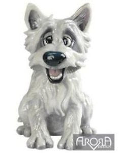 Mac Westie -  from the Pets with personality range - is a fantastic figurine made from Ceramistone. Comes with padded box.