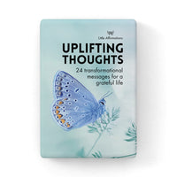 Uplifting thoughts by Affirmation - box set of 24 transformational messages for a grateful life