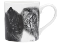 Feline Friends Mugs 330ml - Bonding Buddies