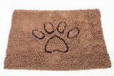 Brown Medium Dirty Dog Doormat