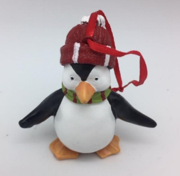 Beautiful Christmas Penguin hanger - Made from Resin  100mm x 80 mm x 40 mm