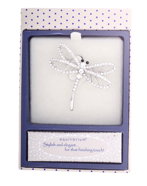 Beautiful Equilibrium brooches, with  wording of  Stylish and elegant... for the finishing touch!  Available in Butterfly, dragonfly and tree of life! Presented beautifully in a box.  Plated with real with gold!.