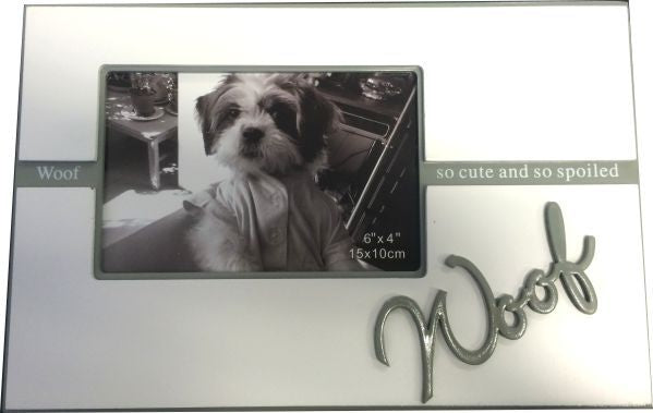 WOOF Photo Frame 0 So. Cute and so spoiled