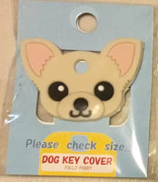 Chihuahua key cover - Blonde
