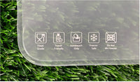 Flat bag instructions for use - Food Gread, travel Friendly, Hand wash Only , Frezer Safe - DO not microwave.