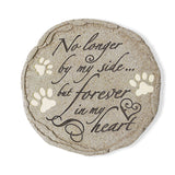 "Pet Grave Memorial Stone - ""No Longer by my Side"""