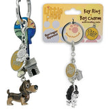 Little Paws Key Ring or Bag Charm