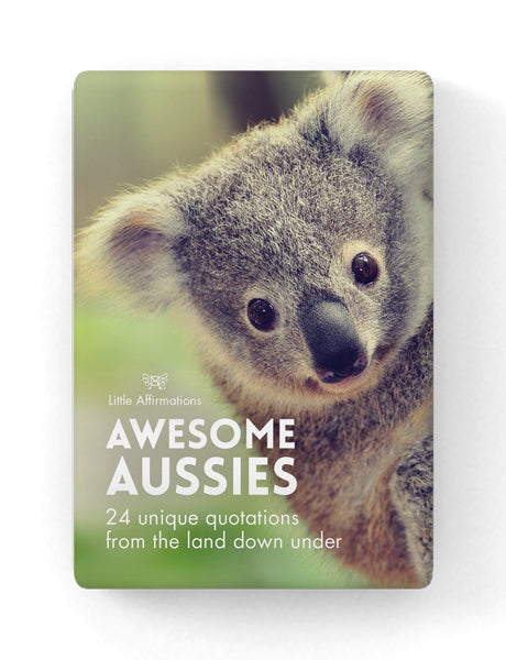 Awesome Aussies - by Affirmation - 24 unique quotations from the land down under