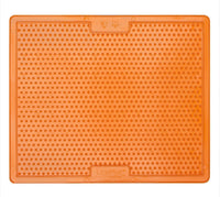 Lickimat Soonter Xlarge - helps to entertain and reduce stress - Orange