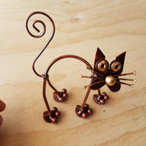 Cat Arch copper colour