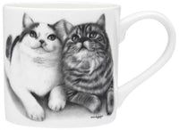 Feline Friends Mugs 330ml - Fixated Friends