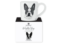 Beautiful Delight dog range by Ashdene in monochrome colours. 12 delightful dogs available. French bulldog
