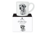 Beautiful Delight dog range by Ashdene in monochrome colours. 12 delightful dogs available. Labrador