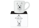 Beautiful Delight dog range by Ashdene in monochrome colours. 12 delightful dogs available. West Highland Terrier