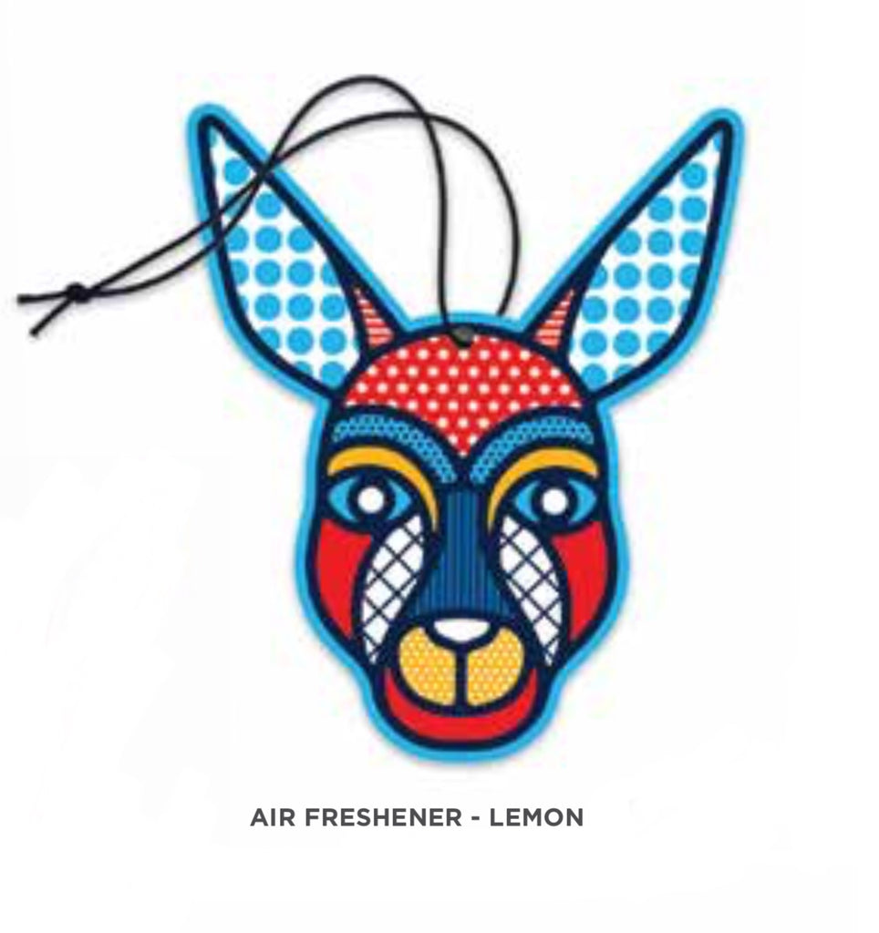 Designs By Leonard - Air Freshener - Lemon - Pop Kangaroo
