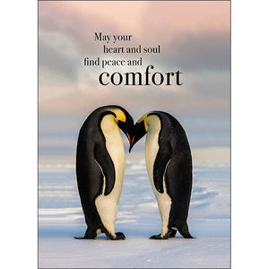 Affirmation Cards - May your heart and soul find peace and comfort