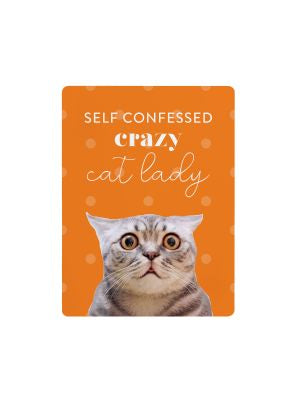 Playful Pet Magnets - Self Confessed crazy cat lady.
