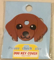 Dachshund key cover - Red