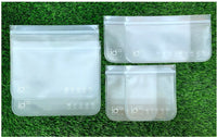 Pack of 6 Flat bags available in 3 sizes at $27.95 a pack.