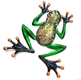 Beautiful Frog with filigree body and green legs. Great for any frog lover.