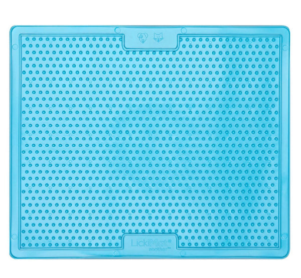 Lickimat Soonter Xlarge - helps to entertain and reduce stress - Blue