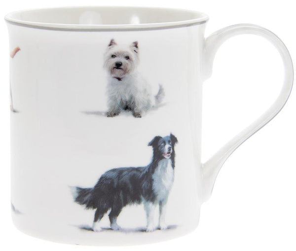Cat and Dog Mugs