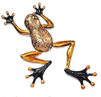 Beautiful Frog with filigree body and Gold legs. Great for any frog lover.