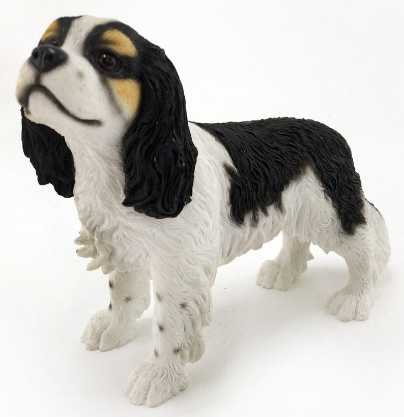 Leonardo Collection Dog - Cavalier King Charles Spaniel - tri Standing