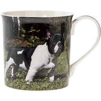 Black and white staffy - dog mug