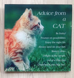 Plaque - Advise from a Cat/Dog