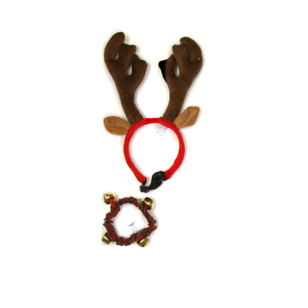 Collar Combo Antler and Bell