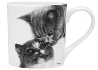 Feline Friends Mugs 330ml - Mothers Love