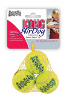 KONG Small pack of 3 Squeak air dog balls- great for small dogs