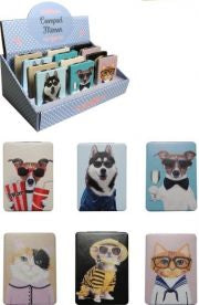 Compact Mirrors - Dressed Cats or Dogs