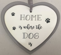 Heart sign - Home is where the Dog is