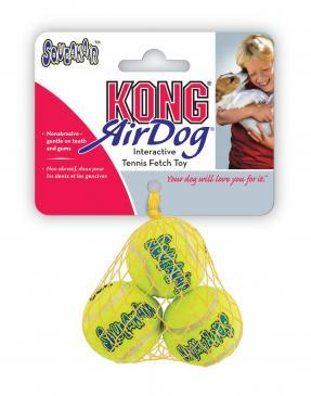 Extra small pack of 3 KONG airdog balls