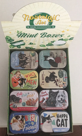 Nostalgic Art Mint Boxes