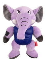 GIGWI I'm hero Armour elephant plush toy with squeaker