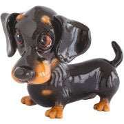 Little Paws - Frankie Dachshund fantastic representation of a Dachshund in Black and Tan