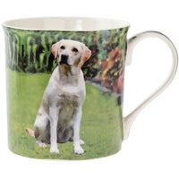 Yellow Mug - dog mug