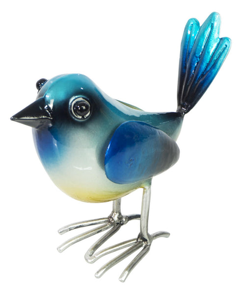 Metal Blue Wren