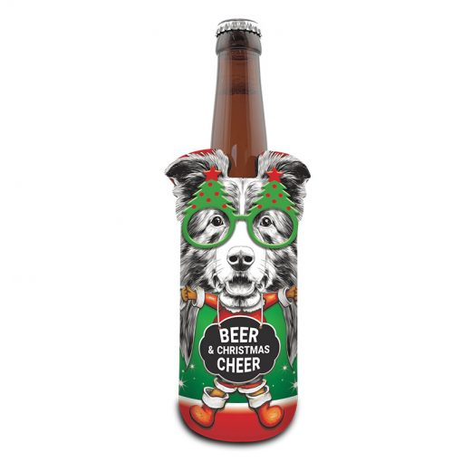 Cheers Big Ears Christmas Can Stubby Cooler