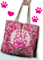 ECO Bag - Crazy Cat Lady