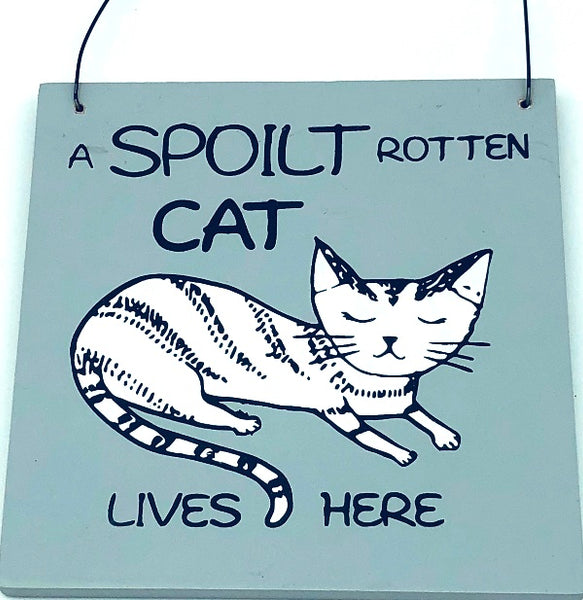 Square Plaques Cat & Dogs