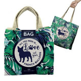 Dogs on the Run - Pop-up bowls and Bags