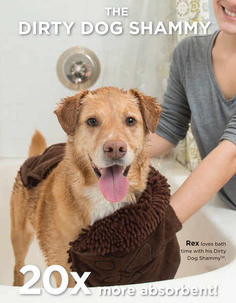 Dirty Dog Shammy 20 x more absorbent than a normal towel
