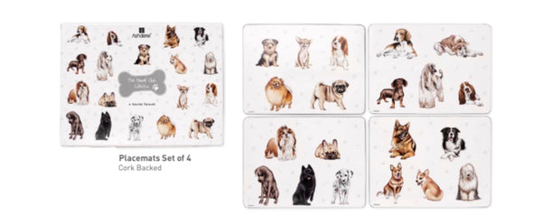 Kennel Club - Placemats or Coaster Set