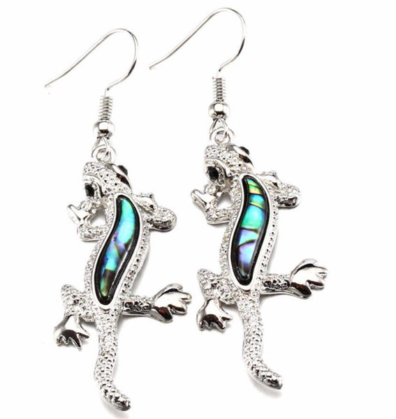 Lizard Earrings